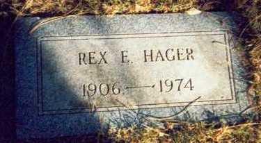 HAGER, REX E. - Pottawattamie County, Iowa | REX E. HAGER