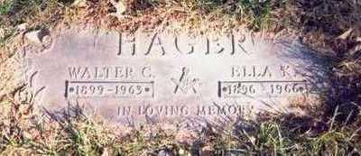 INGWERSEN HAGER, ELLA K. - Pottawattamie County, Iowa | ELLA K. INGWERSEN HAGER