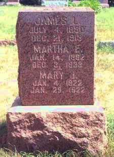 JONES HAGUE, MARTHA ELLEN - Pottawattamie County, Iowa | MARTHA ELLEN JONES HAGUE