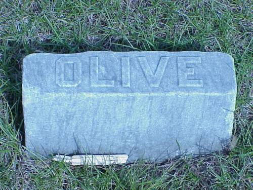 HAIGHT, OLIVE - Pottawattamie County, Iowa   OLIVE HAIGHT