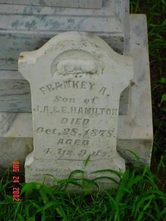 HAMILTON, FRANKEY A - Pottawattamie County, Iowa | FRANKEY A HAMILTON