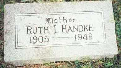 HANDKE, RUTH I. - Pottawattamie County, Iowa | RUTH I. HANDKE