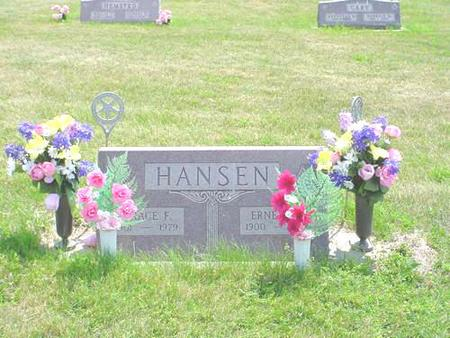 HANSEN, GRACE F. - Pottawattamie County, Iowa | GRACE F. HANSEN