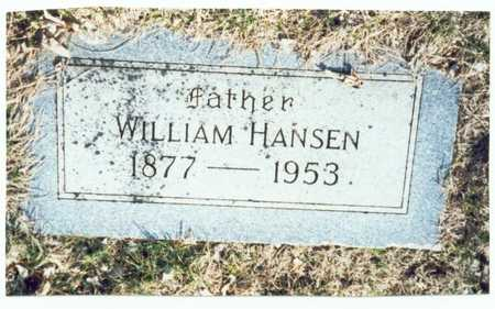 HANSEN, WILLIAM - Pottawattamie County, Iowa | WILLIAM HANSEN