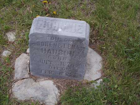 HANSON, JOHNNIE - Pottawattamie County, Iowa | JOHNNIE HANSON