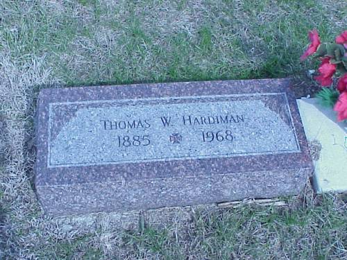 HARDIMAN, THOMAS W. - Pottawattamie County, Iowa | THOMAS W. HARDIMAN