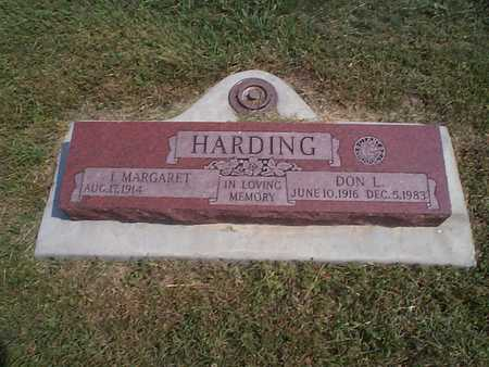 HARDING, DON L. - Pottawattamie County, Iowa | DON L. HARDING