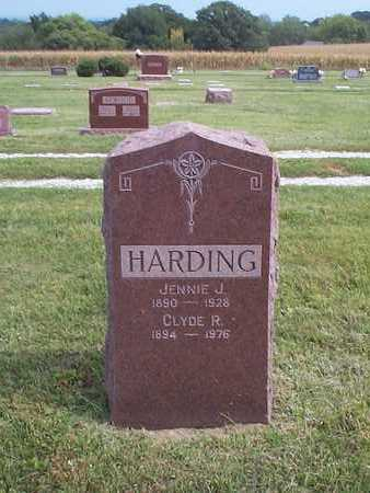 HARDING, JENNIE J. - Pottawattamie County, Iowa | JENNIE J. HARDING