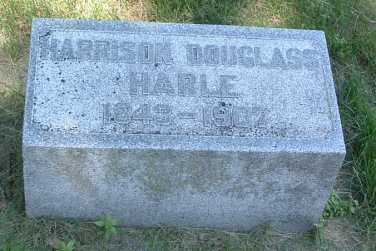 HARLE, HARRISON DOUGLASS - Pottawattamie County, Iowa | HARRISON DOUGLASS HARLE