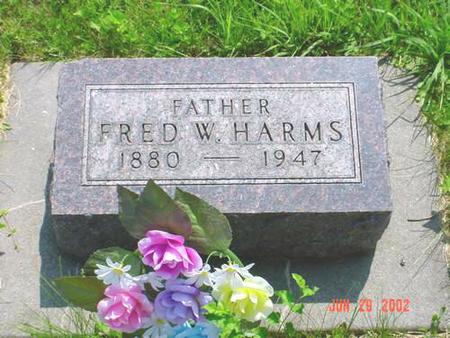 HARMS, FRED W. - Pottawattamie County, Iowa | FRED W. HARMS