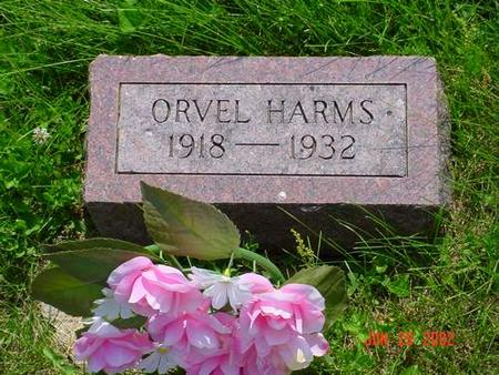 HARMS, ORVEL - Pottawattamie County, Iowa | ORVEL HARMS