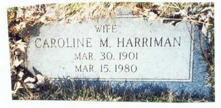 SELLARS HARRIMAN, CAROLINE M. - Pottawattamie County, Iowa | CAROLINE M. SELLARS HARRIMAN