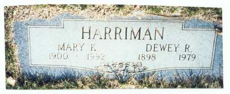 HARRIMAN, MARY K. - Pottawattamie County, Iowa | MARY K. HARRIMAN