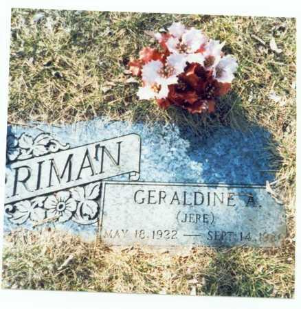 HARRIMAN, GERALDINE A. - Pottawattamie County, Iowa | GERALDINE A. HARRIMAN