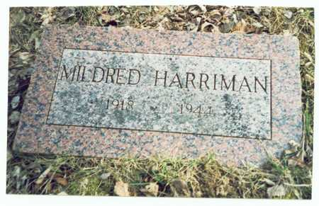 HARRIMAN, MILDRED - Pottawattamie County, Iowa | MILDRED HARRIMAN