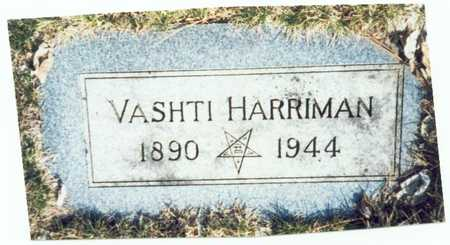 HARRIMAN, VASHTI - Pottawattamie County, Iowa | VASHTI HARRIMAN