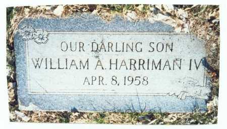HARRIMAN, WILLIAM A. IV - Pottawattamie County, Iowa | WILLIAM A. IV HARRIMAN