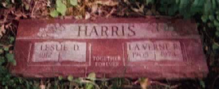 HARRIS, LAVERNE R - Pottawattamie County, Iowa | LAVERNE R HARRIS