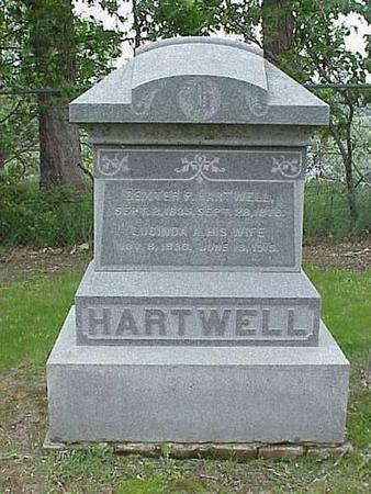 HARTWELL, HEADSTONE - Pottawattamie County, Iowa | HEADSTONE HARTWELL