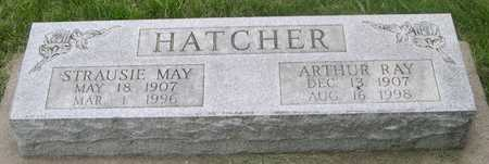 HATCHER, STRAUSIE MAY - Pottawattamie County, Iowa | STRAUSIE MAY HATCHER