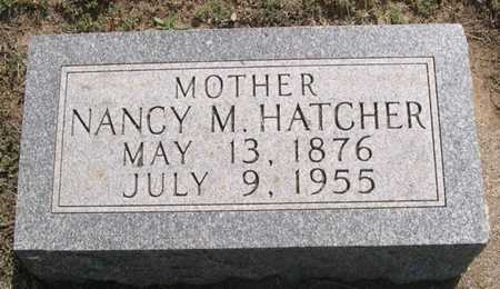 HATCHER, NANCY M. - Pottawattamie County, Iowa | NANCY M. HATCHER