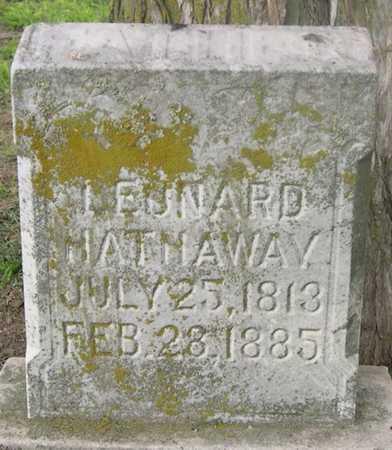 HATHAWAY, LEONARD - Pottawattamie County, Iowa | LEONARD HATHAWAY