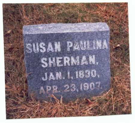 SHERMAN HAWLEY, SUSAN PAULINA - Pottawattamie County, Iowa | SUSAN PAULINA SHERMAN HAWLEY