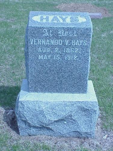 HAYS, VERNANDO V. - Pottawattamie County, Iowa | VERNANDO V. HAYS