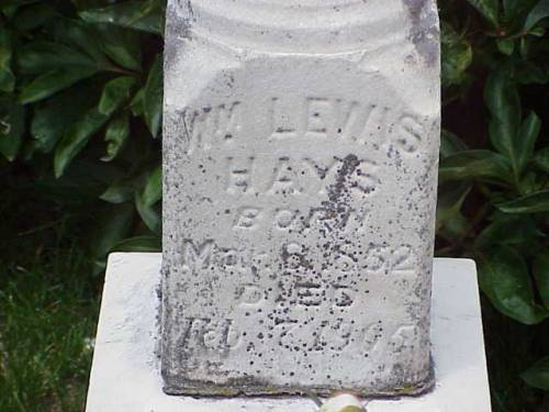 HAYS, WILLIAM LEWIS - Pottawattamie County, Iowa | WILLIAM LEWIS HAYS