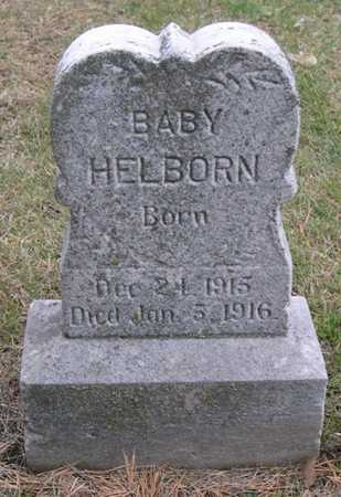 HELBORN, INFANT - Pottawattamie County, Iowa | INFANT HELBORN