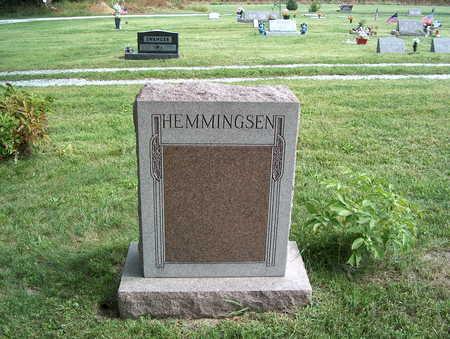 HEMMINGSEN, FAMILY MARKER - Pottawattamie County, Iowa | FAMILY MARKER HEMMINGSEN