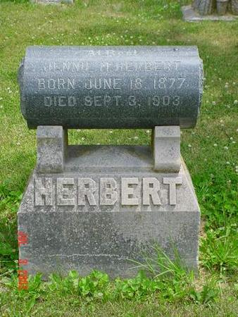HERBERT, JENNIE M. - Pottawattamie County, Iowa | JENNIE M. HERBERT