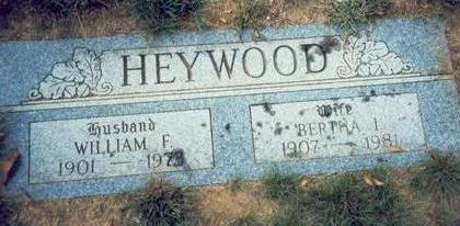 HEYWOOD, WILLIAM FRANK - Pottawattamie County, Iowa | WILLIAM FRANK HEYWOOD
