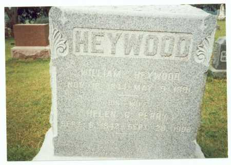 HEYWOOD, WILLIAM - Pottawattamie County, Iowa | WILLIAM HEYWOOD