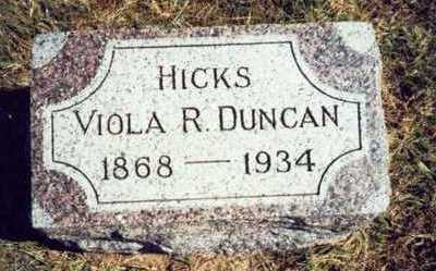 HICKS, VIOLA R. - Pottawattamie County, Iowa | VIOLA R. HICKS