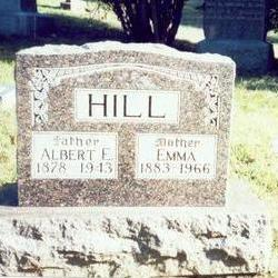 HILL, ALBERT E. - Pottawattamie County, Iowa | ALBERT E. HILL