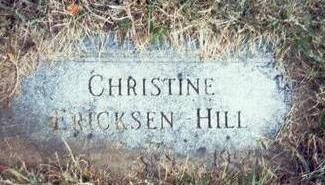 ERICKSEN HILL, CHRISTINE - Pottawattamie County, Iowa | CHRISTINE ERICKSEN HILL