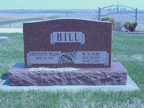 HILL, GENEVIEVE NILAN & W.W.