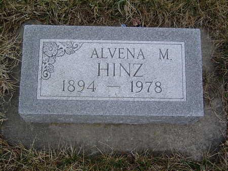 HINZ, ALVENA - Pottawattamie County, Iowa | ALVENA HINZ