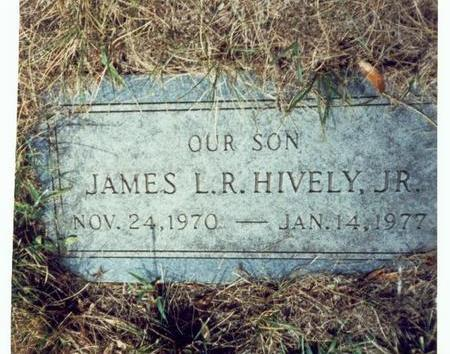 HIVELY, JAMES L.R. JR. - Pottawattamie County, Iowa | JAMES L.R. JR. HIVELY