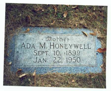 HONEYWELL, ADA M. - Pottawattamie County, Iowa | ADA M. HONEYWELL