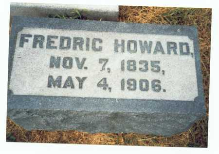 HOWARD, FREDRIC - Pottawattamie County, Iowa | FREDRIC HOWARD