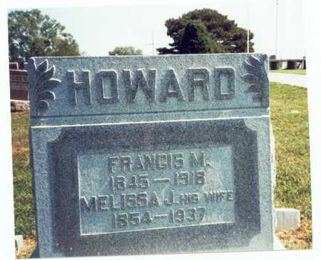 HOWARD, FRANCIS M. - Pottawattamie County, Iowa | FRANCIS M. HOWARD
