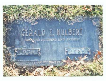 HULBERT, GERALD E. - Pottawattamie County, Iowa | GERALD E. HULBERT