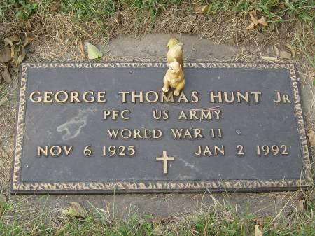 HUNT JR., GEORGE THOMAS - Pottawattamie County, Iowa | GEORGE THOMAS HUNT JR.