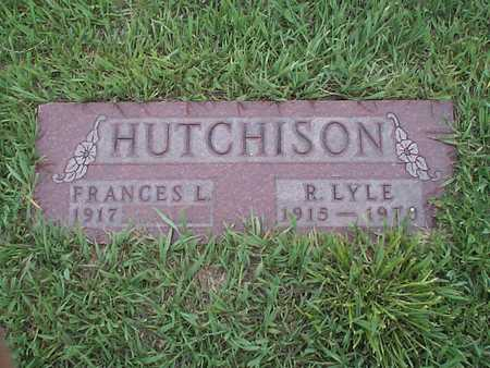 HUTCHISON, FRANCES L. - Pottawattamie County, Iowa | FRANCES L. HUTCHISON