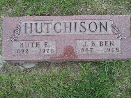 HUTCHISON, RUTH E. AND J.B. BEN - Pottawattamie County, Iowa | RUTH E. AND J.B. BEN HUTCHISON
