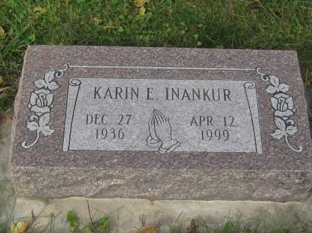 INANKUR, KARIN E. - Pottawattamie County, Iowa | KARIN E. INANKUR