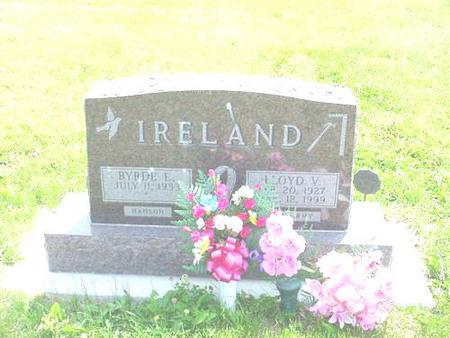 IRELAND, BYRDE E. (HANSON) - Pottawattamie County, Iowa | BYRDE E. (HANSON) IRELAND