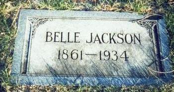 JACKSON, BELLE - Pottawattamie County, Iowa | BELLE JACKSON